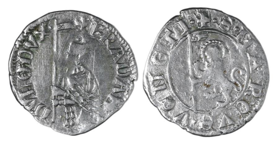 World Coins - VENICE. FRANCESCO DANDOLO. 1329 - 1339 AD. SOLDINO. XF\UNC