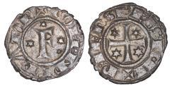 World Coins - Medieval Italy Kingdom of Sicily Frederich II 1197-1250 Denar Rare UNC
