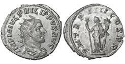 Ancient Coins - Philip I The Arab 244–249 AD Antoninianus Rome XF+