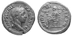 Ancient Coins - Severus Alexander. 221-235 AD. Denarius. \ Fides \ XF