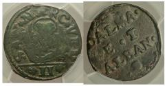 World Coins - Venice Dalmatia & Albania Gazzetta ND (c. 1710) KM9 PCGS Fine Detail