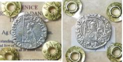 World Coins - Republic of Venice. Francesco Dandolo. 1329 - 1339 AD. Soldino.