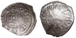 World Coins - Italy Padua Francesco I Da Carrara Denaro 1355-1388 AD Rare