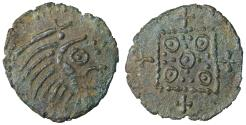 World Coins - Anglo-saxon. Continental issue. 695-715 AD. BI Sceat.  R2. XF