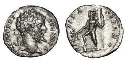 Ancient Coins - Septimius Severus 193-211 AR denarius Rome mint,VF+ MARTI PACIFERO