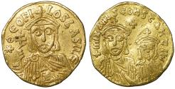Ancient Coins - Theophilus. 829-842 AD. Gold Solidus. XF