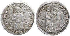 World Coins - Italian States Venice Republic Giovanni Mocenigo AR Marcello Iridescent toning aUNC