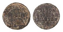 Ancient Coins - Leo VI the Wise 870 - 912 A.D. Bronze Follis.