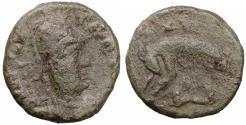 World Coins - OSTROGOTHS Athalaric 526-534 Æ 40 Nummi - Follis VF+. Rare