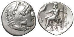 Ancient Coins - Macedon. Lampsakos. Philip III Arrhidaeus 323-317 BC Drachm UNC