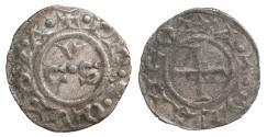 World Coins - Italy Ancona Autonomous Repubblic XIII Century Denar XF\UNC