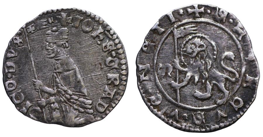 World Coins - REPUBLIC OF VENICE. GIOVANNI GRADENIGO. 1355 - 1356 AD. SOLDINO SCARCE