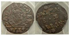 World Coins - Venice. Dalmatia & Albania Gazzetta ND 7101).  Paolucci-797. PCGS VF30