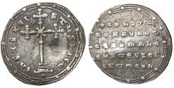 Ancient Coins - CONSTANTINE VII with ROMANUS I 913-959 Miliaresion VF\XF