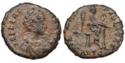 Ancient Coins - Aelia Flacilla. AD 378-383. Antiochia Mint Rare. VF\XF