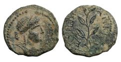 Ancient Coins - Seleucis and Pieria Antioch Semi-autonomous issue AD 128-129 Bronze aXF