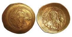Ancient Coins - MICHAEL VII DUCAS 1071-1078 GOLD Histamenon Nomisma UNC  \ Byzantine Coins