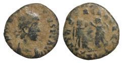 Ancient Coins - Theodosius I  379-395 AE3 Rome VF VICTORIA \ Roman Coins
