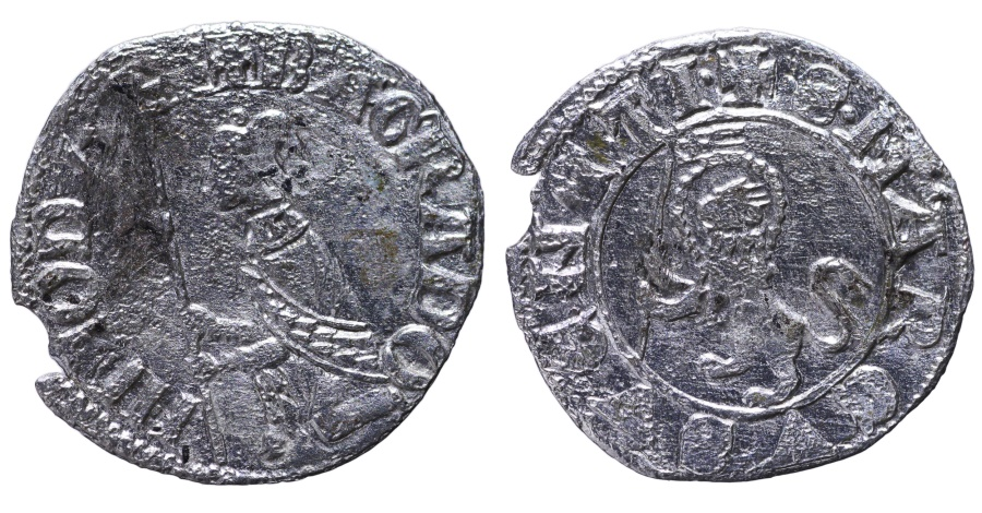 World Coins - REPUBLIC OF VENICE. BARTOLOMEO GRADENIGO. 1339 - 1342 AD. SOLDINO. RARE