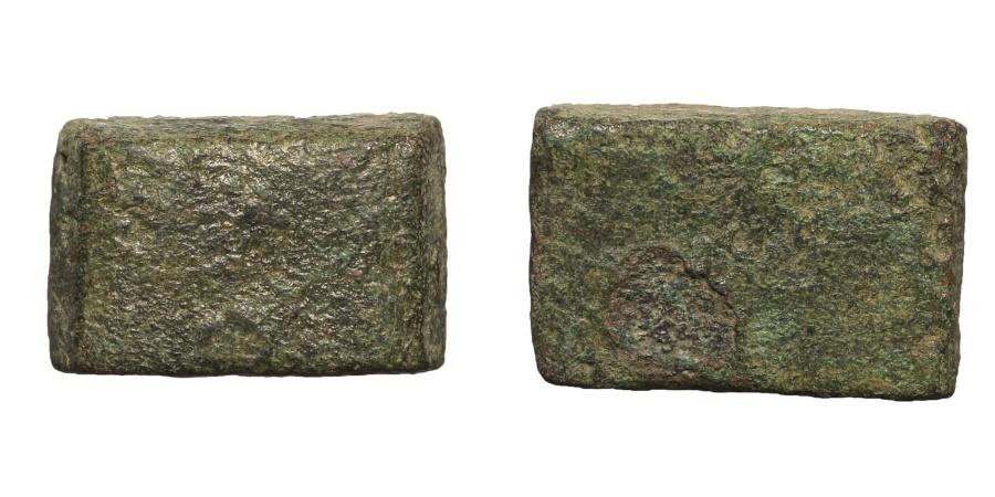 Ancient Coins - Roman empire. Bronze weight. Late 3rd century. 8,7 gr. – 19x13 mm