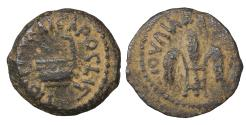 Ancient Coins - Judaea Pontius Pilate. 26-36 AD. Prutah. 29 AD.  XF