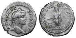 Ancient Coins - Caracalla. Denarius. 206 AD VF