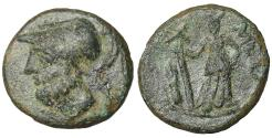 Ancient Coins - Lucania. Metapontion. 300-250 BC. Bronze VF\XF