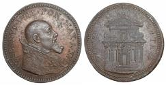 World Coins - Pope Urban VIII 1623-1644 Medal year XVI  R2 UNC Papal States