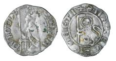 World Coins - REPUBLIC OF VENICE. FRANCESCO DANDOLO. 1329 - 1339 AD. SOLDINO. XF
