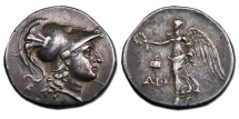 Pamphylia, Side AR Tetradrachm