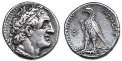 Ancient Coins - Ptolemy II Philadelphos. 285-246 BC. AR Tetradrachm