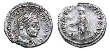 Ancient Coins - Elagabalus AR Denarius - SVMMVS SACERDOS AVG
