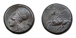 Ancient Coins - Corinth AR Stater, 375-300 BC