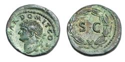 Ancient Coins - Domitian Æ As. Rome mint for circulation in Seleucis and Pieria/ Antioch