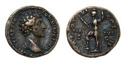 Ancient Coins - Marcus Aurelius. As Caesar, AD 139-161. Æ As