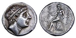 Ancient Coins - Seleucid Kingdom, Antiochos I Soter, 281-261 BC. AR tetradrachm