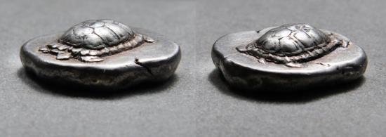 Ancient Coins - Aegina AR Stater. 456-431 BC