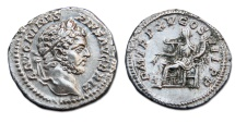 Caracalla AR Denarius - Anonna Seated