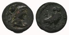 Ancient Coins - ATTICA. Athens. Pseudo-autonomous (Circa 120-175). Ae. 1.37gr Very RARE!