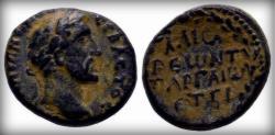 Ancient Coins - Cappadocia. Caesarea. Antoninus Pius AD 138-161. Bronze Æ 5,64gr Extremely RARE!