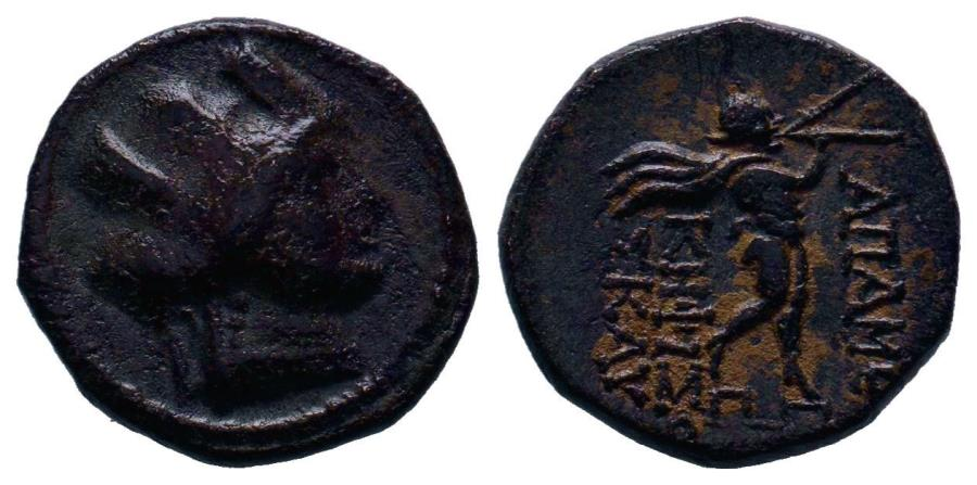 Ancient Coins - Apameia (BC 133-48) AE 17 133-48 BC. AE17 (4.32g) Extremely nice