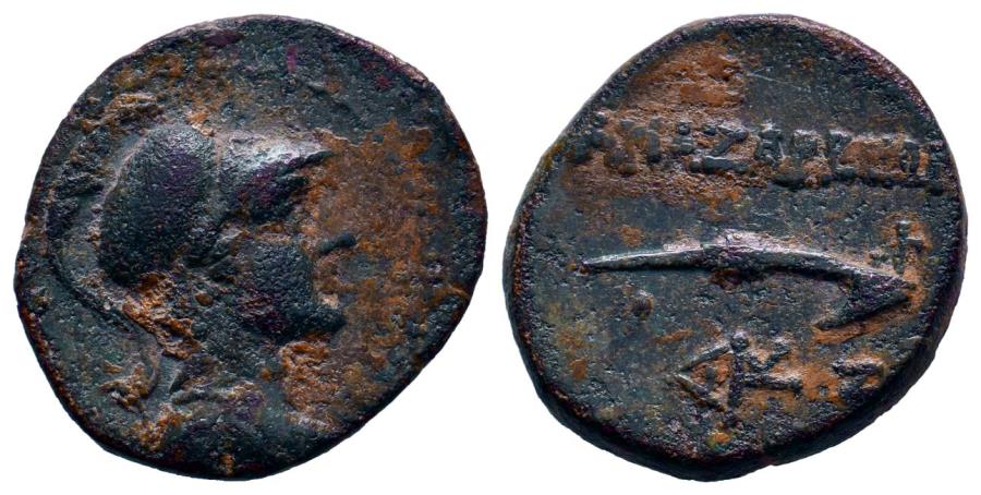 Ancient Coins - Cilicia,  Anazarbos (BC 200-1) 2nd-1st century BC. AE18 - Dichalkon (4.75g,).