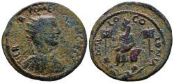 Ancient Coins - Cilicia Mallos (AD 251) AE 33 - Herennius Etruscus 14.17gr Beauty!