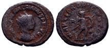 Ancient Coins - Macrianus. Usurper, AD 260-261. Antoninianus (21mm, 3.75 g, 1h). Samosata mint. RARE