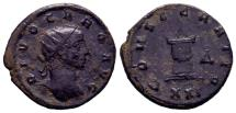 Ancient Coins - DIVUS CARUS (Died AD 283). Antoninianus. Antioch.