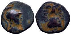 Ancient Coins - CAPPADOCIA. Caesareia (as Eusebeia). Time of King Ariobarzanes (95-63 BC). Ae.