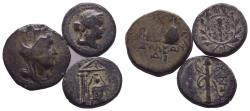 Ancient Coins - Lot of 3  Nice Greek Coins  Bargain Price !!!!