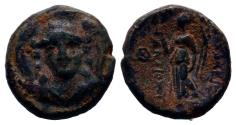 Ancient Coins - SELEUKID KINGS of SYRIA. Antiochos I Soter (281-261 BC). Ae. Smyrna or Sardes.