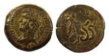 ANTONINUS PIUS 138-161 d.C. -AE/ DRACMA    RARA !