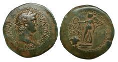 Ancient Coins - Nero 54-68 d.C. -ae/ drachm - Karia -